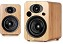 Steljes Audio NS1 Powered Loudspeakers in Bamboo