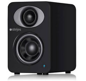 Steljes Audio NS1 Powered Loudspeakers in Coal Black