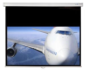 Sapphire Manual Screen Viewing Area 2033mm x 1145mm not channel fix Approx Case Dimensions L 2250mm x H 89mm x D 87mm