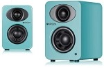 Steljes Audio NS1 Powered Loudspeakers in Lagoon Blue