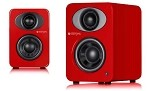 Steljes Audio NS1 Powered Loudspeakers in Vermilion Red