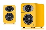 Steljes Audio NS1 Powered Loudspeakers in Solar Yellow