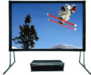 Sapphire Rapid Fold Front Projection Viewing Area 3050mm x 1905mm 16:10 Format