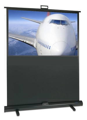 "Sapphire Portable Pull-up 92"" Projection Screen, 2030 x 1145 VALUE RANGE Approx Case Dimensions L 2192mm x H 83mm x 61mm"