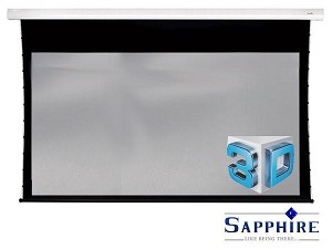 Sapphire 3D Tab Tension Electric Screen Infra Red 2346mm x 1320mm