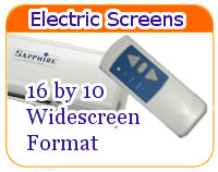 Electric Screens 16 by 10 menu