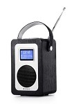 SA20 Digital Radio with Bluetooth in Black Oak